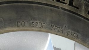 how to tell the age of a tyre