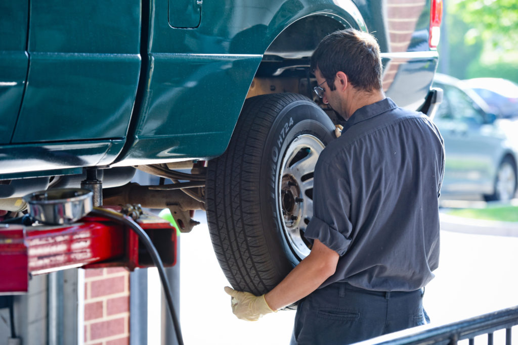 Can I replace just one tire on my car?